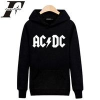 2017 Autumn Winter Rock Music AD DC Hoodies Men Hip Hop Sweatshirt Male Hoody Tracksuit Hombre