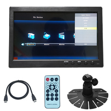 10 inch HD Monitor Car/Truck / bus display  1280X800 HDMI Interface TFT LCD AV VGA  Rear View Monitor DC 12V/24V