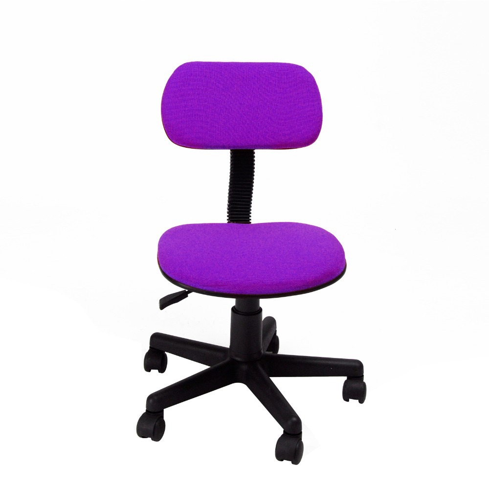 Purple Swivel Chair Pro Beach Low Slung Folding Fashionable Design Office Lift Simple Style 360 Degree With Fabric Pads Computer
