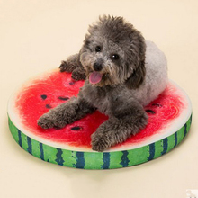 Fashion Special Design 3D Fruit Large Size Big Dog Mats Soft Breathable Pet Beds, JSF-Beds-017
