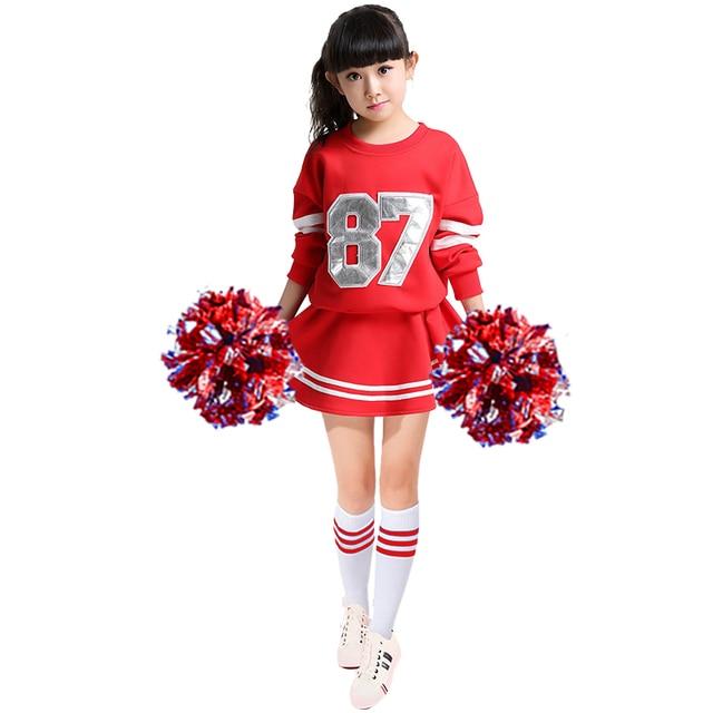 cheerleader kost m cheerleading anzug kinder cheerleader dress gruppe studenten. Black Bedroom Furniture Sets. Home Design Ideas