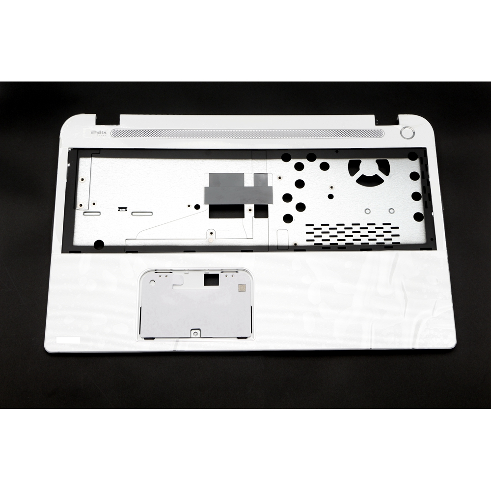 H000056260 Genuine New Top <font><b>Cover</b></font> Palmrest Upper Case White w/ Speaker 13N0-C3A1P01 for <font><b>Toshiba</b></font> Satellite <font><b>L50</b></font>-<font><b>A</b></font> <font><b>L50</b></font>-<font><b>A</b></font>-1FW image