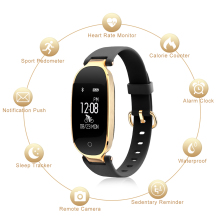 Modern Leather Smart Wristband
