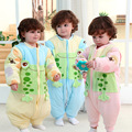 Lovely Cartoon Pure Cotton Children Baby Sleeping Bag Thicken Autumn Winter Warm Sleep Sack Soft Split Types Sleep Bag C01