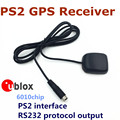 Industrial-grade PS2 interface RS232 protocol output of GPS receivers module can be compatible to replace GLOBAL STARBR BR-355s4