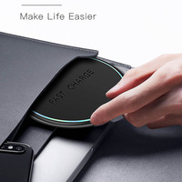 FDGAO 10W Qi Wireless Charger for iPhone 11 X XS XR 8 Quick Charge 3.0 Fast Wireless Charging Pad for Samsung S9 S10 Xiaomi mi 9 4