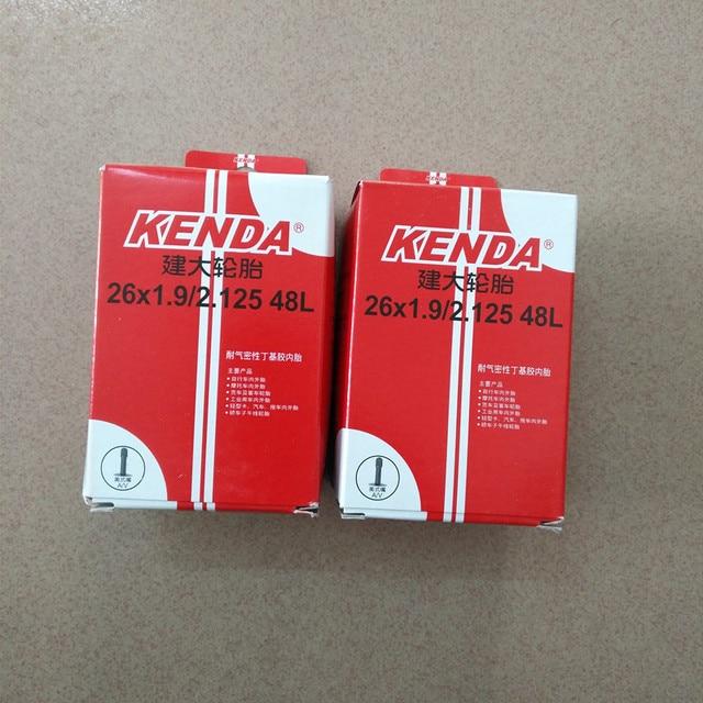 Kenda ultralight Presta Butyl rubber mountain bike Bicycle Cycling Inner Tube 26*1.9/2.125 AV/FV