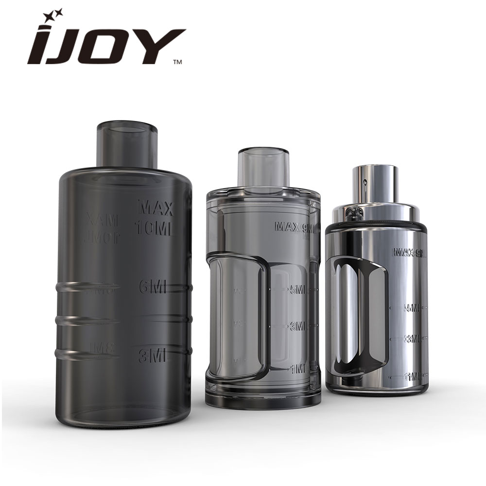 Electronic Cigarettes Original Ijoy Capo Squonk Bottle 9ml Capacity Made From High Quality Silicone & Ss For The Capo Squonker Mod/kit Vape Spare Part Catalogues Will Be Sent Upon Request
