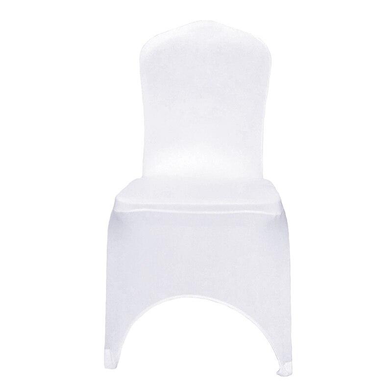 엑스트라 더 두꺼운 화이트 스판덱스 웨딩 의자 커버 연회 이벤트 파티 호텔 장식 스트레치 라이크라 시트 커버-에서의자 커버부터 홈 & 가든 의  그룹 1
