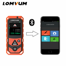 LOMVUM Bluetooth Laser Distance Meter Camera Laser Rangefinder 200m 150m USB Handheld Distance Measuring pro s3a laser distance meter laser distance meter measuring device 2 inch color screen 100m