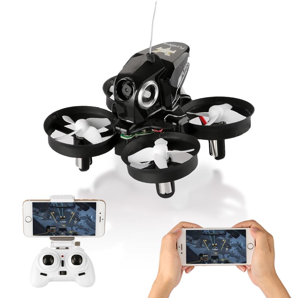 Новые FuriBee H801 4CH 6 оси гироскопа Wi-Fi FPV дистанционного Управление Quadcopter 720 P HD Камера вертолет один- ключ возврата мини Drone