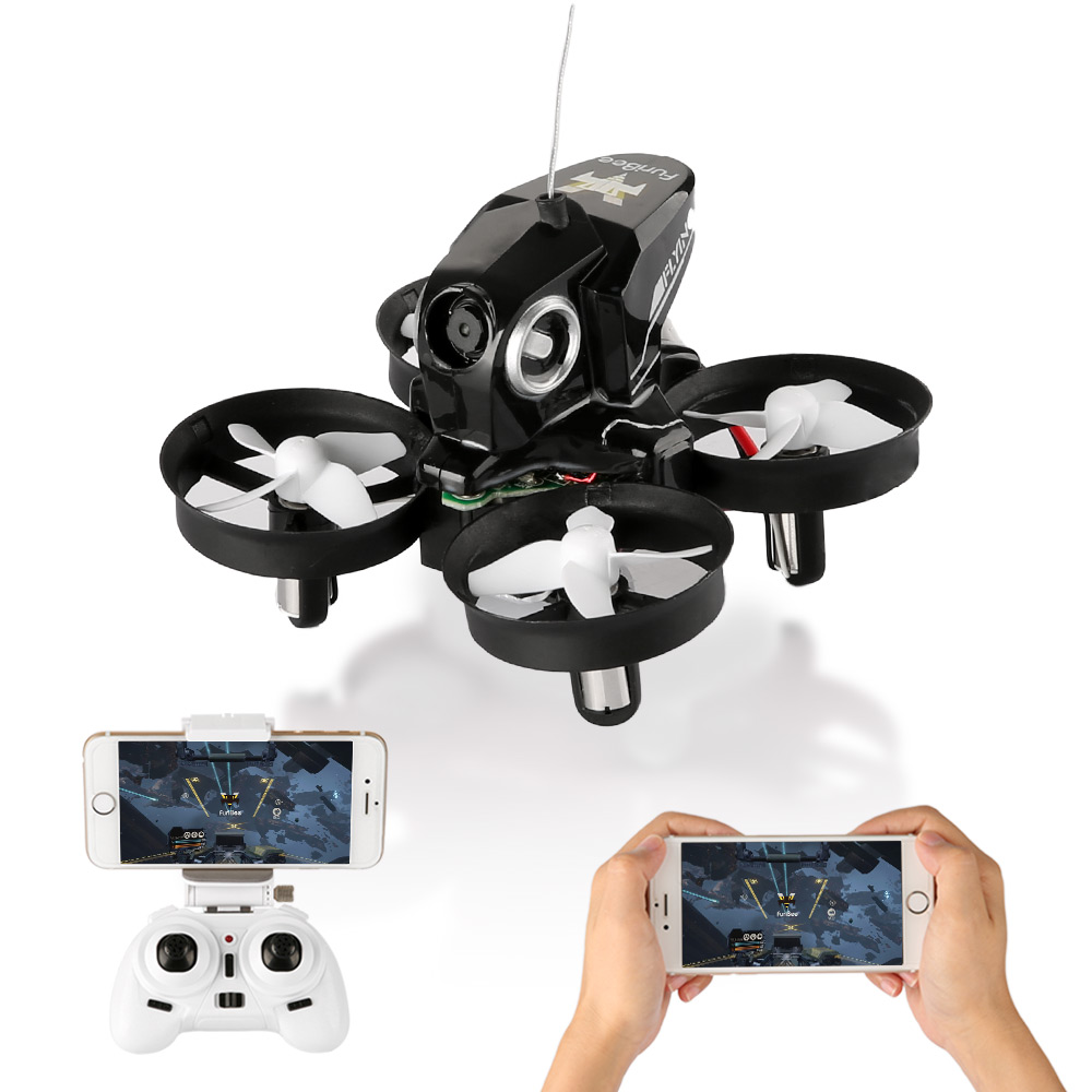Newest FuriBee H801 Selfie Mini Drone With 720P HD Camera 4CH 6 Axis Gyro WiFi FPV Remote Control QuadcopterRC Helicopter dron