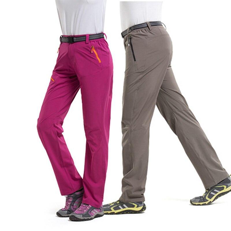 Men Women Outdoor Thin Sports Long Pants Comfortable ...