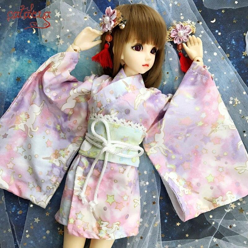 Cataleya BJD Doll Sd Doll Clothes 1/4 1/6 Doll Clothes Dream Tianma Short Kimono Postage