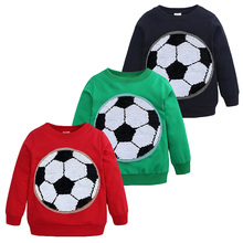 BOTEZAI childrens clothes casual cotton boy T-shirt clothing autumn long-sleeved sportswear boys