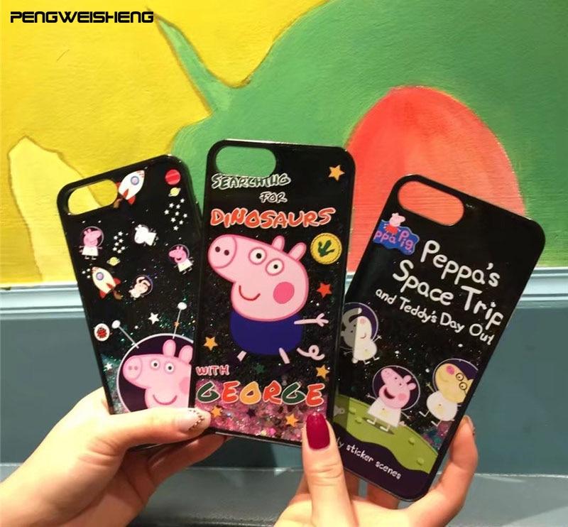 peppa pig iphone 7 case