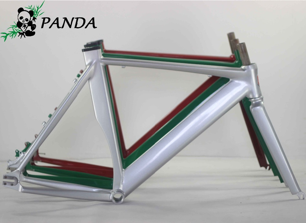 700C*54CM Smooth Welding Track Bike Fixed Gear Disc-Brake Bicycle Frame With the label paper  free shipping цена и фото