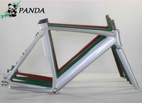 700C 54CM Smooth Welding Track Bike Fixed Gear Disc Brake Bicycle Frame With The Label Paper