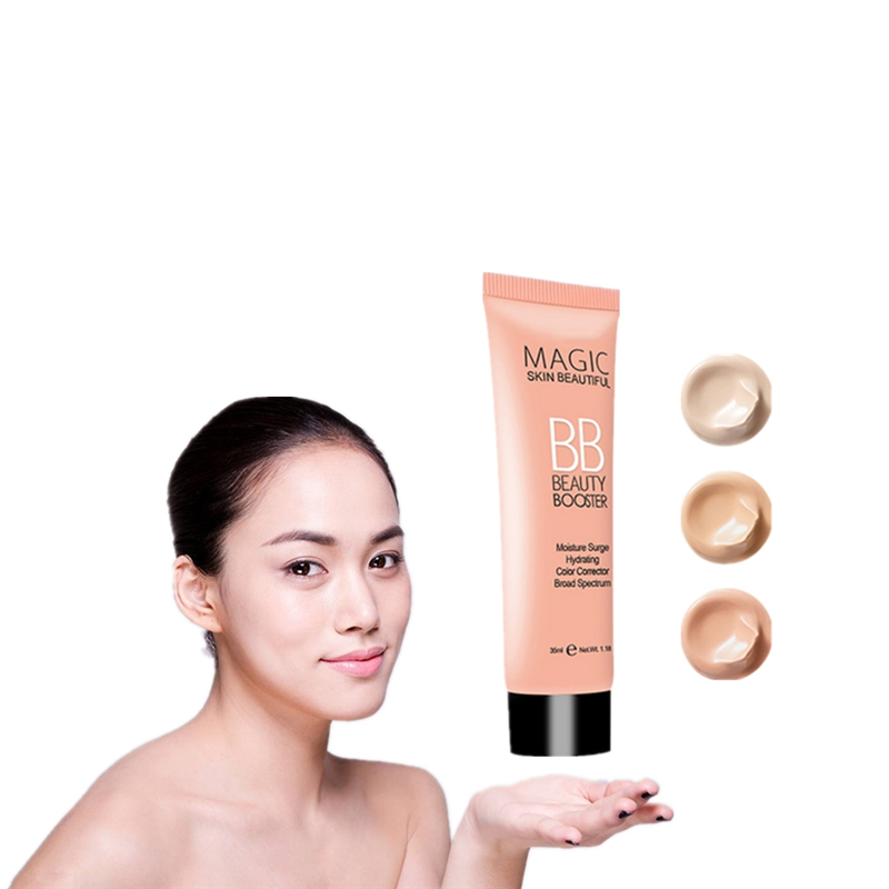 35ml Snail essence repair multi effect Face Skin Care Isolation moisturizing nude Foundation BB Cream Improve skin quality