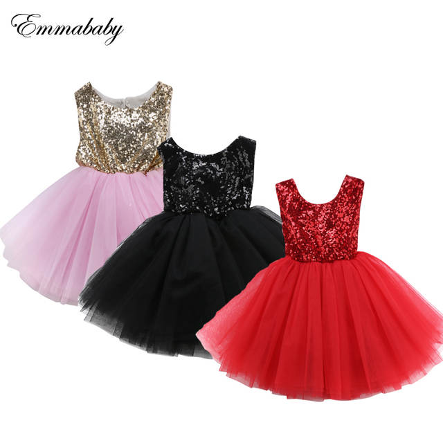 c6ae817242b34 Online Shop 2019 New Girls Dress Pink Red Black Kids Dresses For Girls  Party Dress Bridesmaid Dresses Sleeveless Backless Ball Gown Clothes |  Aliexpress ...