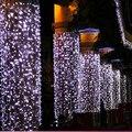 10 m 20 m 30 m 50 m LED luces de la secuencia intermitente cortinas de colores ktv bar luces de neón impermeable Brillo luces al aire libre cortina de alambre
