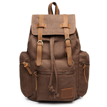 Men's backpack Canvas Retro rucksack