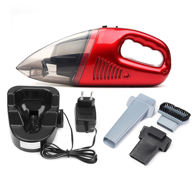 60W Cordless Mini Portable Vacuum Cleaner For Car Dry Wet Handheld Super Suction Dust Collector Cleaning dc 12v 120w portable super suction handheld vacuum dirt cleaner wet