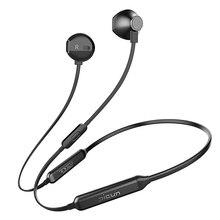 Picun H12 auriculares, inalámbricos por Bluetooth, auriculares IPX5 impermeables deportivos para correr, diseño magnético, audífonos de cuello para teléfono inteligente