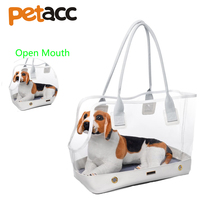 Petacc Clear Pet Carrier Pet Bag Pet Travel Carrier With Pet Mat For Small Dogs And
