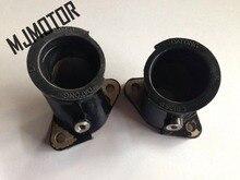 (2pcs/set) CBT125 Intake Manifold For Carburetor Engine For Honda CBT CM150 Motorcycle Chinese QJ250 CA250 Motorcycle ATV Part
