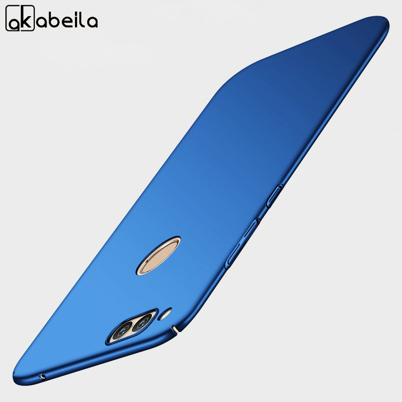 AKABEILA Rubber Plastic Fitted Case For Apple iPhone 7 Case For iphone7 7G A1660 A1778 iPhone7G 4.7 inch Bumper Back Cover