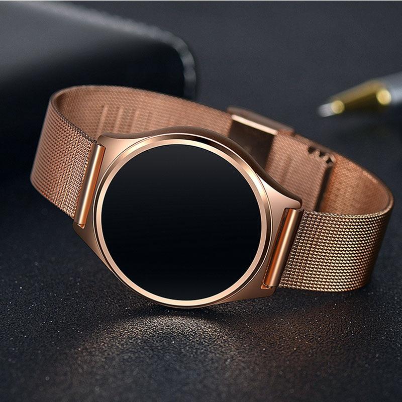 best selling Sleep Monitor Smart Fitness Golden bp hr Smartband Smart Watch Control Camera touch screen