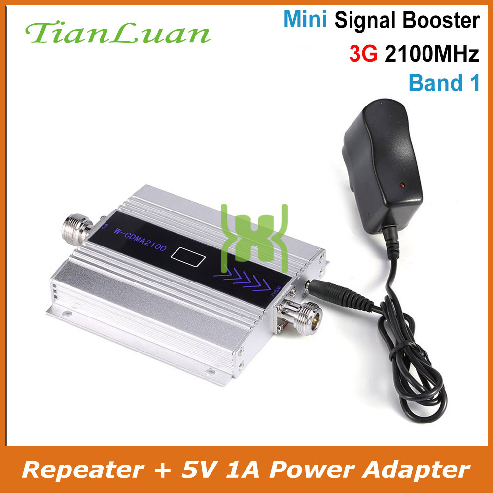 TianLuan 3G Ripetitore 2100MHz Repeater LCD WCDMA 2100 MHZ Mobile Phone Mini Signal Booster UMTS Cell Phone Amplifier Band 1