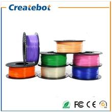 2016 3d printer filament pla filament 1.75mm full color pla filamento 1.75 1kg 3d printer extruder impressora 3d filamento