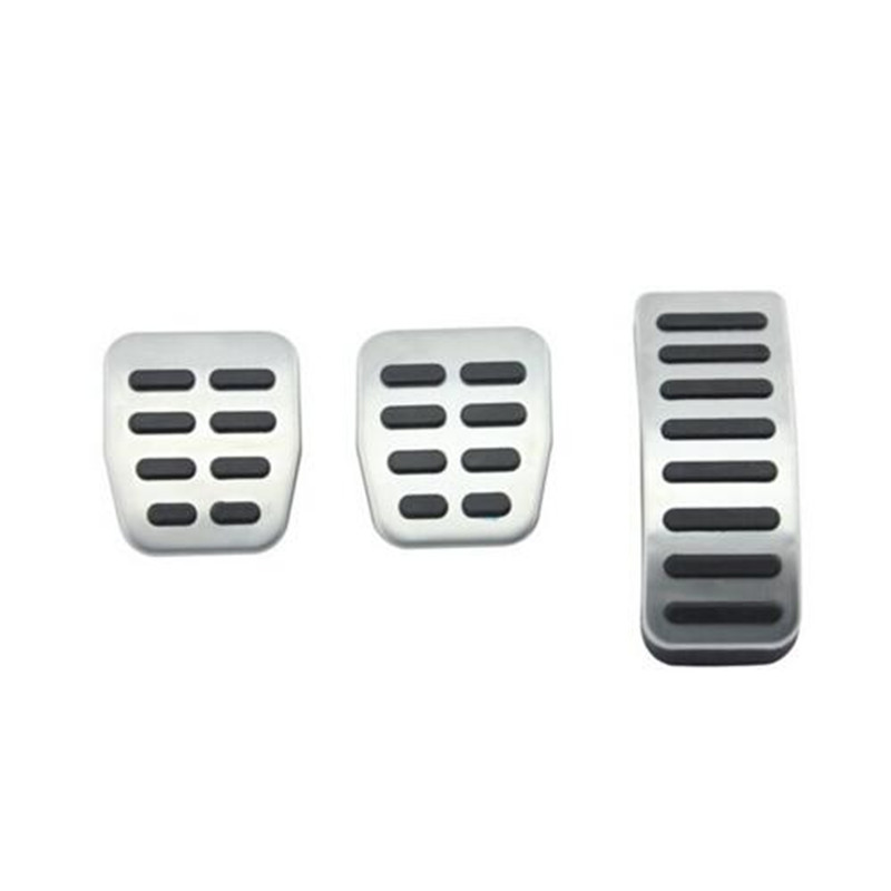 Stainless Steel Car Gas Brake <font><b>Pedals</b></font> For <font><b>Audi</b></font> TT Pedale VW SEAT Golf 3 4 Polo 9N3 For SKODA Octavia Ibiza Fabia A1 A2 <font><b>A3</b></font> GTI image