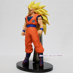Image 5 - Аниме Dragon Ball Z Goku, фигурка Juguetes ACGN Dragonball Super Saiyan 3 фигурки, Коллекционная модель, детские игрушки, игрушки