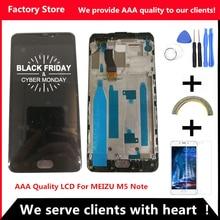 5,5 дюймов AAA качественный ЖК-дисплей для MEIZU M5 Note ЖК-экран+ дигитайзер сенсорный экран для MEIZU M5 Note M621H