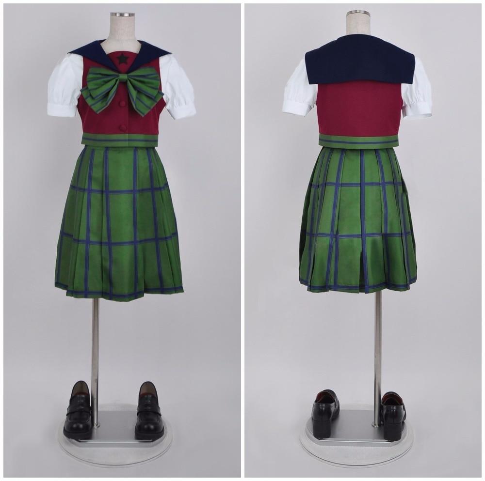 SuperS Sailor Moon Michiru Kaiou / Hotaru Tomoe Sailor Uranus mugen gakuen girls summer uniform cosplay dress halloween costumes