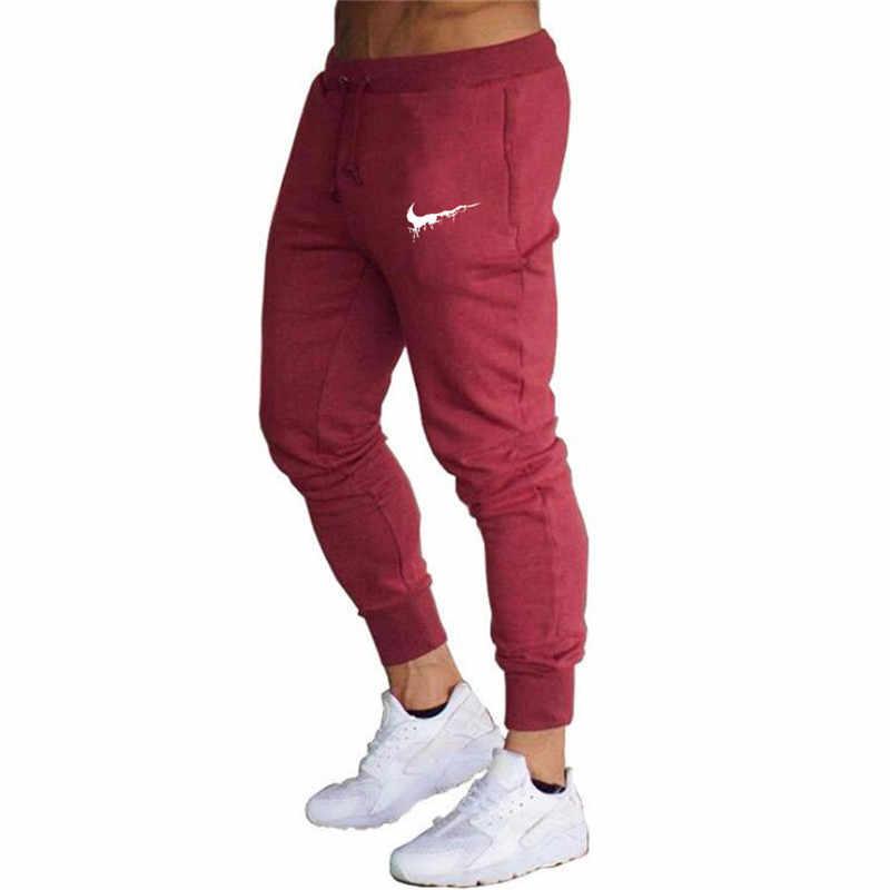 ジョギングズボンオムスポーツパンツ男性フィットネスランニングパンツスポーツタイツジムトレーニングスキニーレギンスメンズジョガースウェットパンツ
