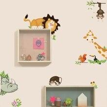 Naklejki ścienne do pokoju dziecięcego zwierzęta/smoki