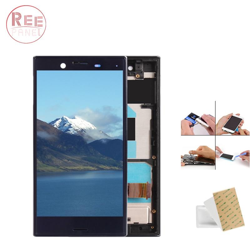 D'origine 4.6 ''LCD Pour SONY Xperia X Compact LCD Affichage Écran Tactile Digitizer avec Cadre F5321 Pièces De Rechange