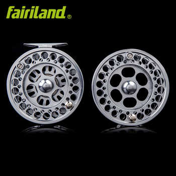 100mm(7/8) Fly reel with spare spool precision machined premier combo from bar-stock aluminum money-saving set