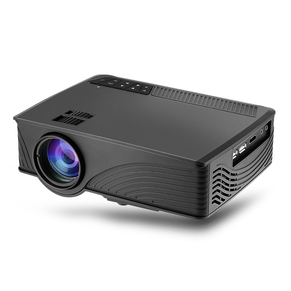 2000 Lumens Full Hd 1080p Led Lcd 3d Vga Hdmi Tv Home: GP 12 Mini 2000 Lumens Home Cinema Theater HD GP12 3D LED