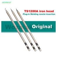 Wozniak Original QUICK TS1200A Lead Free Solder Iron Tip Handle Welding Pen Tools