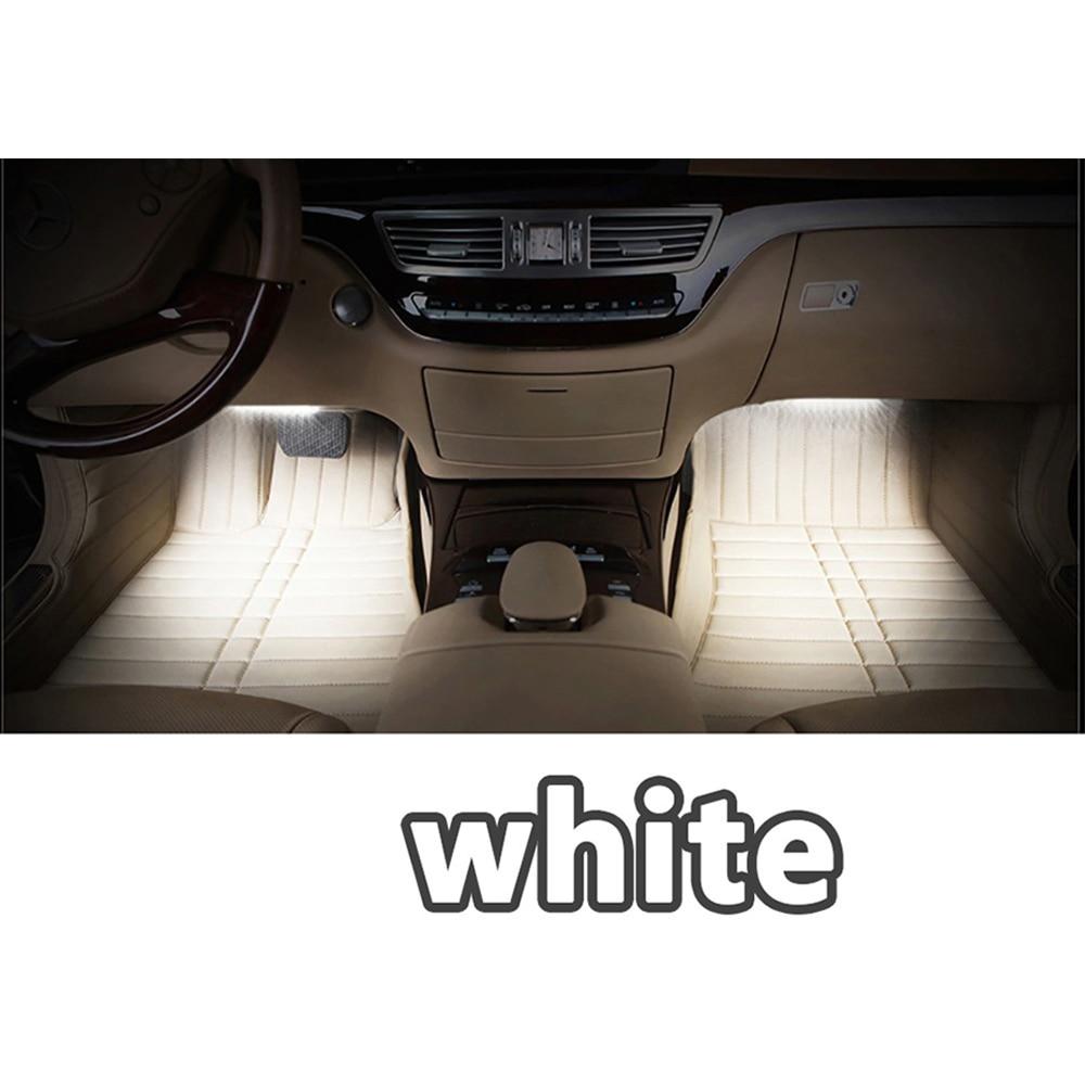 Car RGB svjetla LED traka 3M neonska svjetiljka Dekorativna svjetla - Svjetla automobila - Foto 5