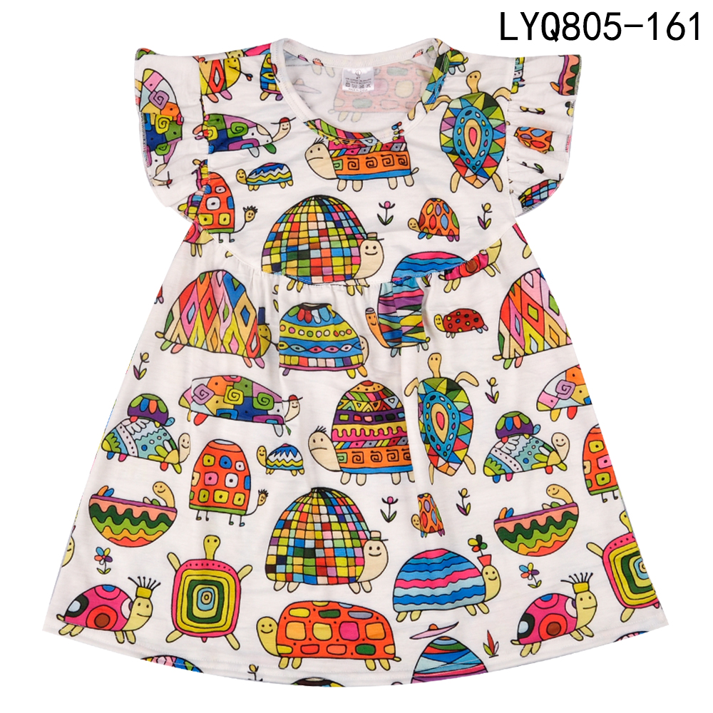 Gratis verzending van hoge kwaliteit boutique remake jurk mode - Kinderkleding - Foto 1