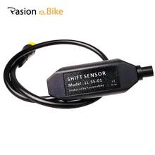 Датчик передачи три контакта в одном водонепроницаемый разъем Электрический для обвеса велосипеда датчик для BAFANG ДАТЧИК ПЕРЕДАЧИ среднемоторный привод датчик скорости