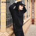 Viishow mens hoodies y sudaderas de hip hop hombres streetwear zip hoody hoodies de las camisetas de los hombres camisetas ocasionales wdz966