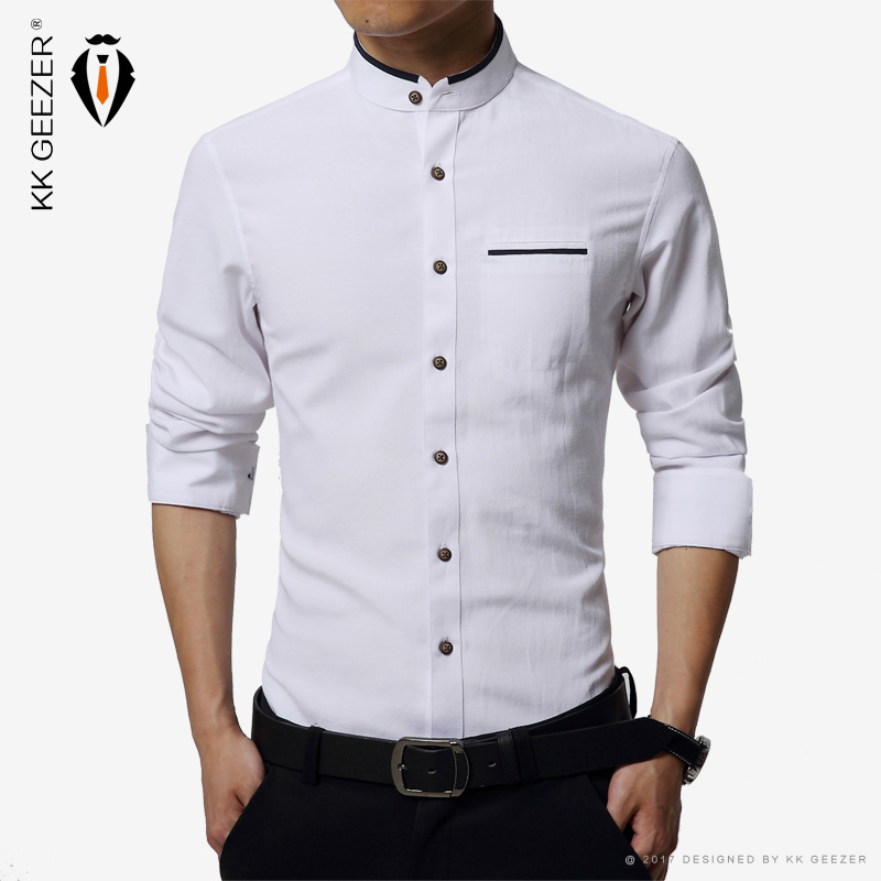 buy high quality mens dress shirt long