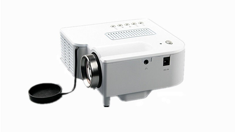 UC28+ Portable mini LED Projector projecteur Home Theater HDMI VGA AV USB SD lamp Remote Control proyector (12)